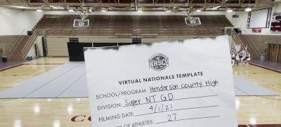 Henderson County High School [Super Varsity Non Tumbling Game Day Virtual Semi Finals] 2021 UCA National High School Cheerleading Championship