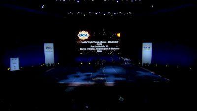 Florida Triple Threat Allstars - THUNDER CATZ [2021 L2 Junior - Medium - D2 Day 1] 2021 UCA International All Star Championship