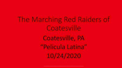 """Pelicula Latina"" - Coatesville Area Senior High School"