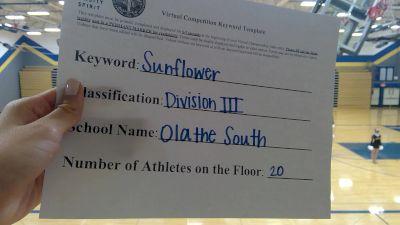 Olathe South High School [Division III Dance] 2020 KSHSAA Game Day Spirit Virtual Showcase