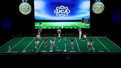 Sparkman High School [2021 Small Junior Varsity Game Day Semis] 2021 UCA National High School Cheerleading Championship