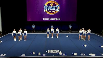 Forrest High School [2021 Small Non Tumbling Finals] 2021 UCA National High School Cheerleading Championship