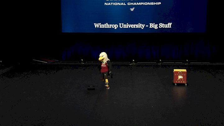 Winthrop University - Big Stuff [2021 Mascot Finals] 2021 UCA & UDA College Cheerleading & Dance Team National Championship