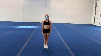 Brianna Lauer - Standing Tumbling [Level 3 - Week 2] 2020 Varsity TV Level Legacy Challenge