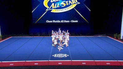 Cheer Florida All Stars - Giants [2021 L1 Junior - Small Day 2] 2021 UCA International All Star Championship
