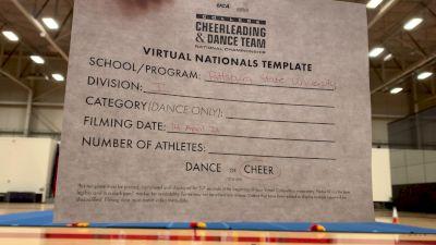 Pittsburg State University [Division I Virtual Semi Finals] 2021 UCA & UDA College Cheerleading & Dance Team National Championship