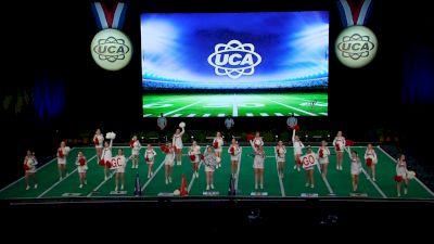 Liberty Christian Academy [2021 JH Non Tumbling Game Day Semis] 2021 UCA National High School Cheerleading Championship