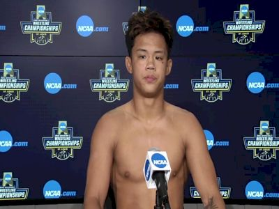 Kyle Parco (Fresno State) after placing sixth at the 2021 NCAA Championships