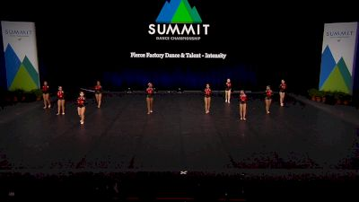 Fierce Factory Dance & Talent - Intensity [2021 Junior Pom Semis] 2021 The Dance Summit