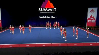 RAMS All Stars - Blaze [2021 L3 Junior - Small Wild Card] 2021 The D2 Summit