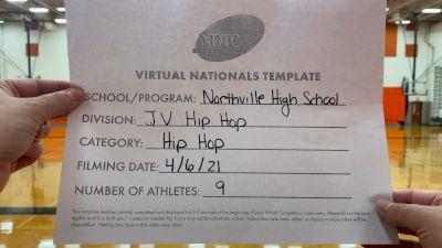 Northville High School [Junior Varsity - Hip Hop Virtual Semi Finals] 2021 UDA National Dance Team Championship