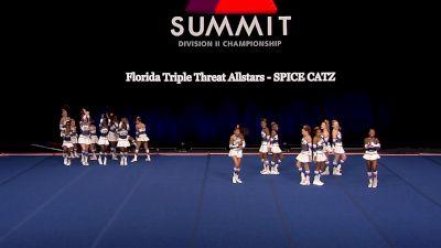 Florida Triple Threat Allstars - SPICE CATZ [2021 L1 Junior - Small Finals] 2021 The D2 Summit