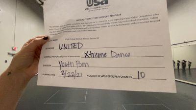 Xtreme Dance [Youth - Pom] 2021USA Virtual Dance Winter Series #2