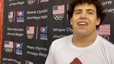 Jim Mullen: 2021 Cadet Freestyle World Teamer (110 kg)