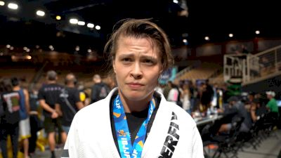 Maria Malyjasiak Submits Her Way To Gold at Pans