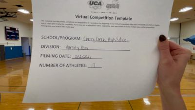 Cherry Creek High School [Varsity - Jazz] 2021 UDA West Spring Virtual Dance Challenge