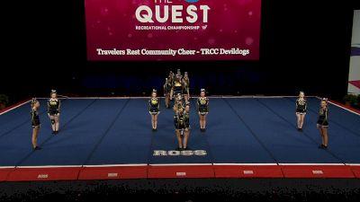 Travelers Rest Community Cheer - TRCC Devildogs [2021 L2 Performance Rec - 14Y (NON) - Large Finals] 2021 The Quest