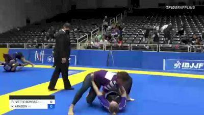 PAIGE IVETTE BORRAS vs KAYLYNN ARAGON 2021 World IBJJF Jiu-Jitsu No-Gi Championship