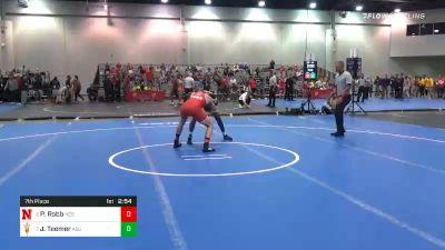 157 lbs 7th Place - Peyton Robb, Nebraska vs Jacori Teemer, Arizona State