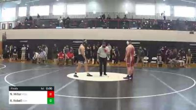 285 lbs Final - Nate Miller, Pequea Valley vs Riley Robell, Bishop McDevitt
