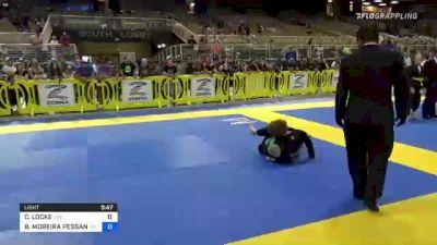CONNOR LOCKE vs BRYAN MOREIRA PESSANHA 2021 Pan Kids Jiu-Jitsu IBJJF Championship