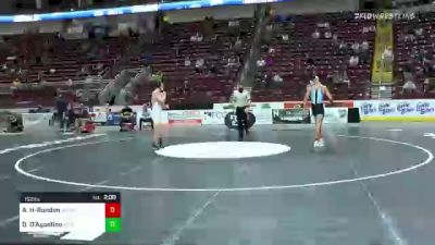 152 lbs Quarterfinal - Alejandro Herrera-Rondon, Seneca Valley vs Dom D'Agostino, Interboro