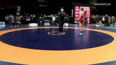 61 kg Consi 8 #1 - Carter Young, Cowboy Wrestling Club vs Ethan Lizak, New York Athletic Club