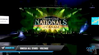 Omega All Stars - Voltage [2021 L3 Junior - D2 - Small Day 2] 2021 Cheer Ltd Nationals at CANAM
