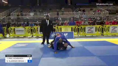 JOHN PAUL KICKBUSCH vs NATHANIEL CLARENCE BRYANT 2021 Pan Jiu-Jitsu IBJJF Championship