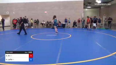 62 kg Rr Rnd 2 - Kristen Schellenberg, NE vs Alicen Dillard, CO