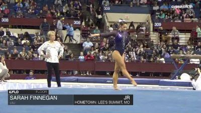 Sarah Finnegan - Floor, LSU - Metroplex Challenge (NCAA)