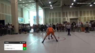 Final - Joshua Heil, Campbell vs Zach Sherman, North Carolina