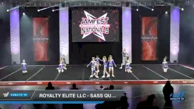 Royalty Elite LLC - Sass Queens [2021 L1 Mini - D2 Day 2] 2021 JAMfest Cheer Super Nationals