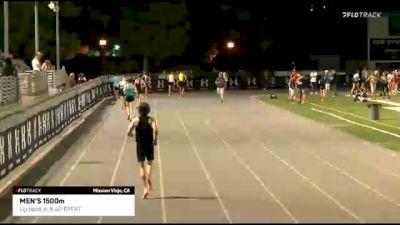 Men's 1500m, Heat 1 - Colby Alexander 3:33!