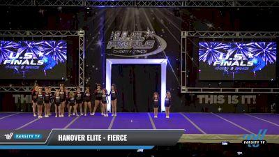 Hanover Elite - Fierce [2021 L2 Junior - D2 - Small - B Day 2] 2021 The U.S. Finals: Ocean City