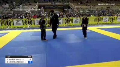 KALEB SIDNEY SMITH vs BRYAN MOREIRA PESSANHA 2021 Pan Kids Jiu-Jitsu IBJJF Championship
