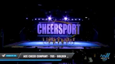 ACE Cheer Company - TUS - Golden Spears [2021 L2 Youth - Small - A Day 1] 2021 CHEERSPORT National Cheerleading Championship