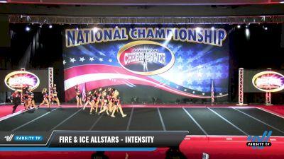 Fire & Ice Allstars - INTENsity [2021 L6 International Open Coed NT Day 2] 2021 ACP: Midwest World Bid National Championship