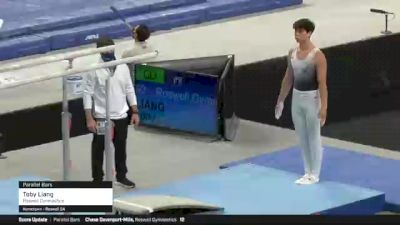 Toby Liang - Parallel Bars, Roswell Gymnastics - 2021 US Championships