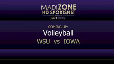Full Replay - Iowa vs Washington St l 2019 JMU Invitational - Iowa vs Washington St - Aug 31, 2019 at 8:55 AM CDT
