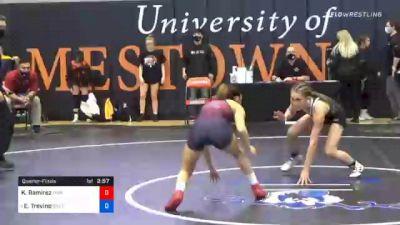 101 lbs Quarterfinal - Kassidy Ramirez, Lyon vs Esthella Trevino, Southern Oregon