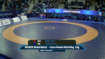 71 kg Final 3-5 - Tornike Mikeladze, Georgia vs Ruslan Nurullayev, Azerbaijan