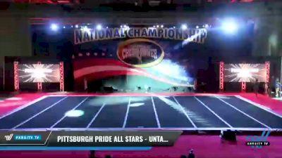 Pittsburgh Pride All Stars - Untamed [2021 L2 Junior - Medium Day 1] 2021 ACP: Midwest World Bid National Championship