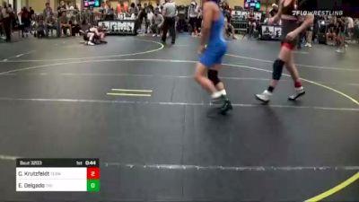 109 lbs Consi Of 32 #2 - Cole Krutzfeldt, Team Montana vs Esteban Delgado, The Lions Den