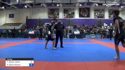 Thiago Aguiar Abud vs Hiago Gama Sousa 2019 Pan IBJJF Jiu-Jitsu No-Gi Championship