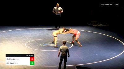 184 lbs Final - Ottis Peeler, Cowley vs Rozell Baker, Ellsworth