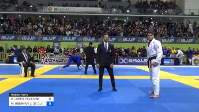 RAFAEL LOPES PAGANINI vs MANUEL RIBAMAR V. DE OLIVEIRA 2020 European Jiu-Jitsu IBJJF Championship