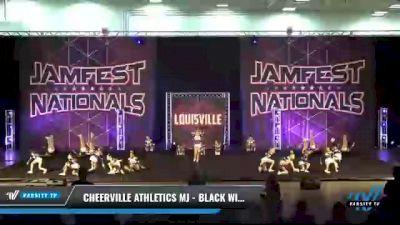 CheerVille Athletics MJ - Black Widows [2021 L1 Youth - Medium Day 2] 2021 JAMfest: Louisville Championship