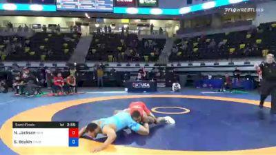 92 kg Semifinal - Nathan Jackson, New York Athletic Club vs Scottie Boykin, TMWC/ Spartan Combat RTC