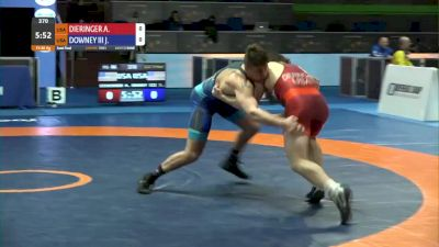 86 kg Semifinal - Alex Dieringer, USA vs Pat Downey, USA
